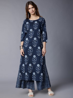 Printed Regular Fit Kurta Sets